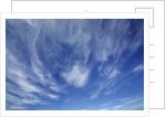 Cloud impression by Corbis