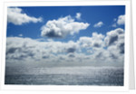 Cloud impression at ocean by Corbis