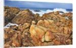 Rocky coast and surf at Canal Rocks by Corbis