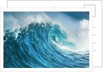 Wave impression by Corbis