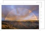 Sunset Rainbow, Waimea Canyon, Kauai, Hawaii by Corbis