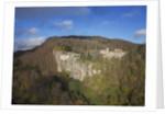 Air view of La Verna Hermitage by Corbis