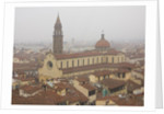 Air view of Santo Spirito church by Corbis