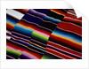 Brightly Striped Cloth by Corbis