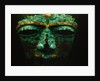 Teotihuacan Mosaic Sculpture Mask by Corbis