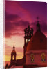 Exterior View of the Church of Guadalupe at Sunset by Corbis