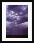 Lightning and Storm Clouds by Corbis