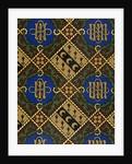 Diamond Print Ecclesiastical Wallpaper Design by Augustus Welby Pugin