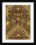 Mosaic Print Ecclesiastical Wallpaper Design by Augustus Welby Pugin