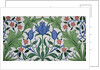 Floral Wallpaper Design with Tulips by William Morris