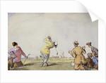 Late Edwardian Golfing Scene by Corbis