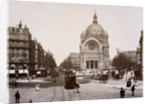 Boulevard de Malesherbes and St. Augustin Church by Corbis