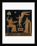 19th Century Greek Vase Illustration of Eros with Two Courtesans by Corbis