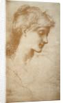 Portrait of a Young Woman by Edward Burne Jones