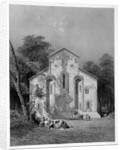 Book Illustration of the Monastery Church of Kaben by Corbis