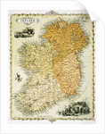 Ireland Map by C. Montague
