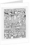 Illustration of the Assembly of the Merchants of Paris by Corbis
