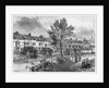 19th-Century Illustration of Old Houses in London Street, Dockhead by Corbis