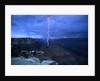 Lightning Above Grand Canyon by Corbis