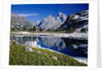 Grand Teton Behind Lake Solitude by Corbis