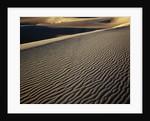 Death Valley Sand Dunes by Corbis