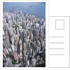 Aerial View of Western District of Hong Kong by Corbis