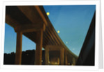 West Seattle Bridge, Night by Mary Iverson