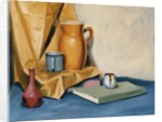 Still Life with Book by Mary Iverson
