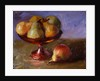 Pears and Copper Dish by Pam Ingalls
