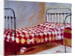 Checkered Bedspread by Pam Ingalls