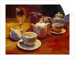 Wine and Tea, London by Pam Ingalls