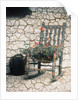 Rosemarie's Chair, Cracked by Kim Koza