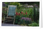 Old Chair in a Garden by Corbis
