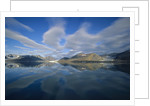 Arctic Skyline Reflecting in Water by Corbis