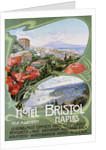 Advertising Poster for the Hotel Bristol Naples by Corbis