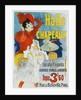 Halle aux Chapeaux Poster by Jules Cheret