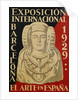 Exposicion International el Arte en Espana Poster by Corbis
