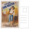 Circa 1900 French Poster for Cacao Van Houten by Corbis