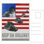 Keep 'em Rolling! Poster by Leo Lionni