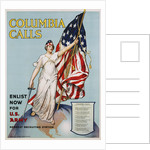 Columbia Calls Recruitment Poster by Frances Adams Halsted and V. Aderente by Corbis