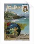 Aix Les Bains Poster by Hugo d'Alesi