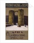 Avila - La Mistica Ciudad - Amurallada Poster by Penagos