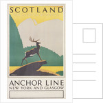 Scotland: The Land of Romance Poster by Frederick C. Herrick
