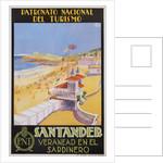 Santander Veranead en el Sardinero Poster by Baldrich