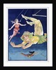 Poster of Stock Trapeze Artists by Corbis