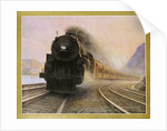 The Twentieth Century Limited of the New York Central Lines Poster by W.H. Foster