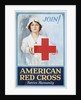 Join! American Red Cross Serves Humanity Poster by Lawrence Wilbur