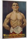 William Demetral Greek Champion Poster by Corbis