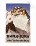 Jungfrau Railway Poster by E. Hovel