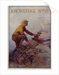 Knowledge Wins Poster by Dan Smith